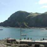 Ilfracombe harbour North Devon